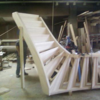 Installation d'escalier en bois Yssingeaux
